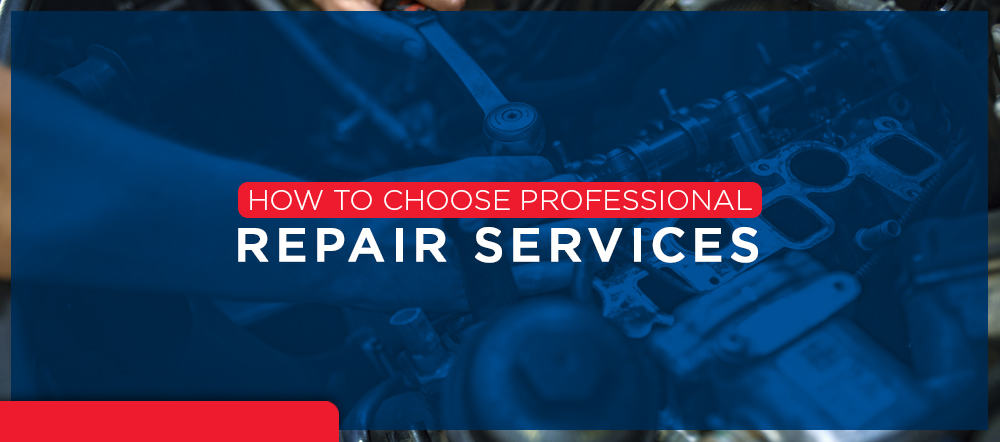 How to choose repair services