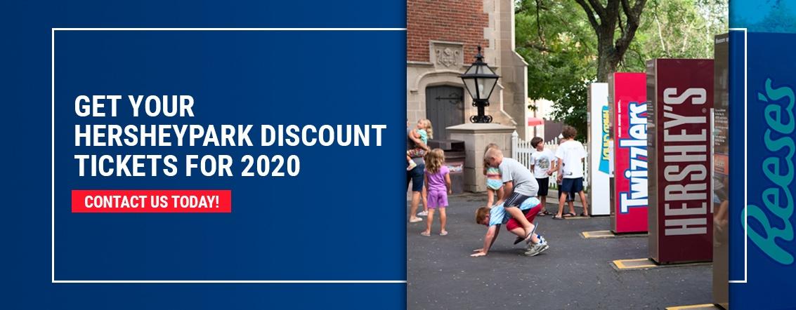 Get discount Hershey Park tickets