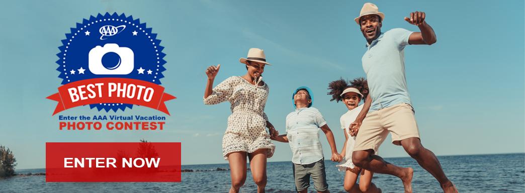 Virtual Photo Contest Family Beach