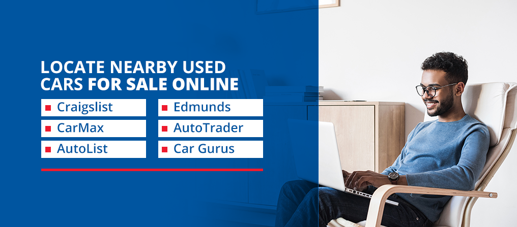 Locate nearby used cars