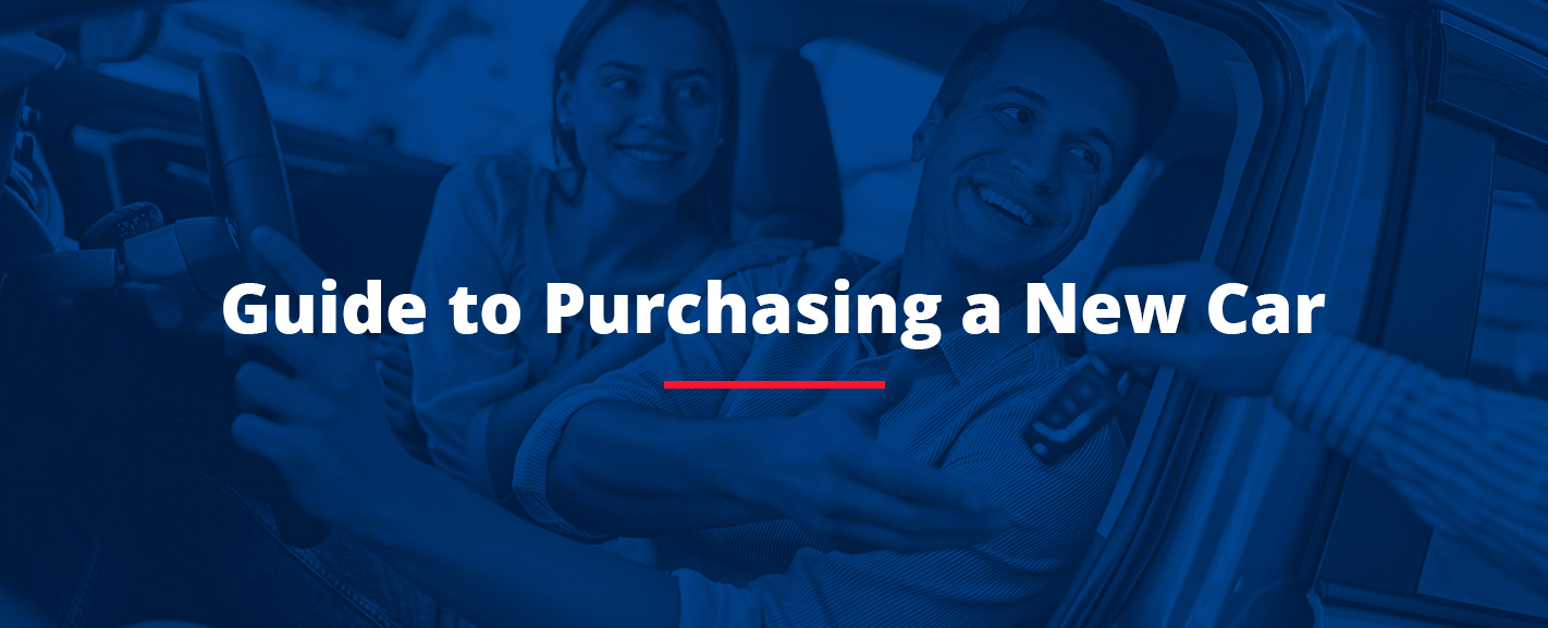 Guide to purchasing a new car