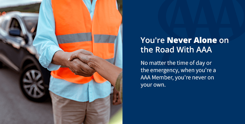 Get AAA Roadside Assistance