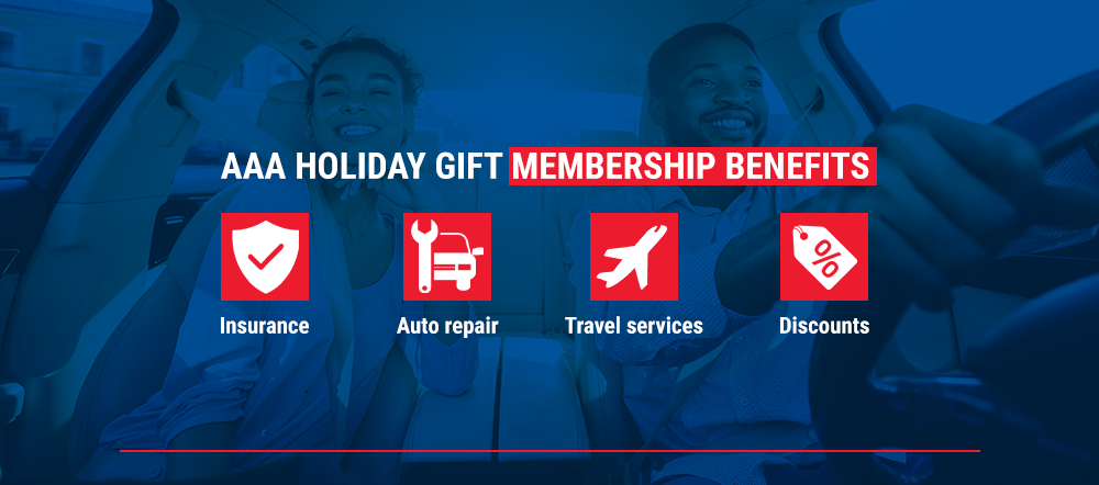AAA Holiday Gift Membership Benefits