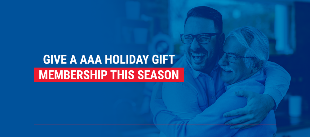 Give a AAA Holiday Gift Membership this Season