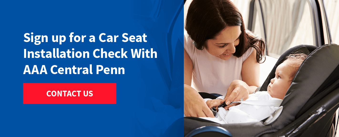 Sign up for a AAA car seat check