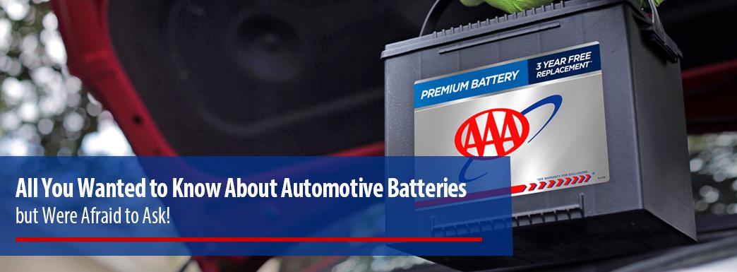About Auto Batteries
