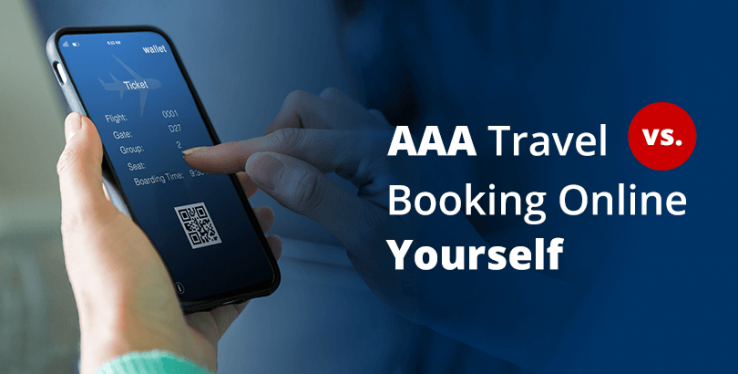 AAA travel agent or book yourself