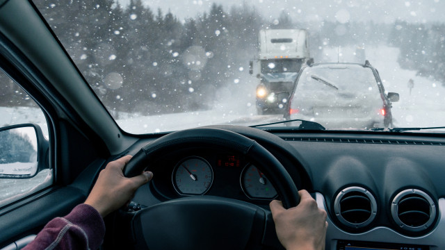 Driving- Winter Temperature
